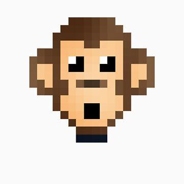 Retro Monkey by DukeAndScruff