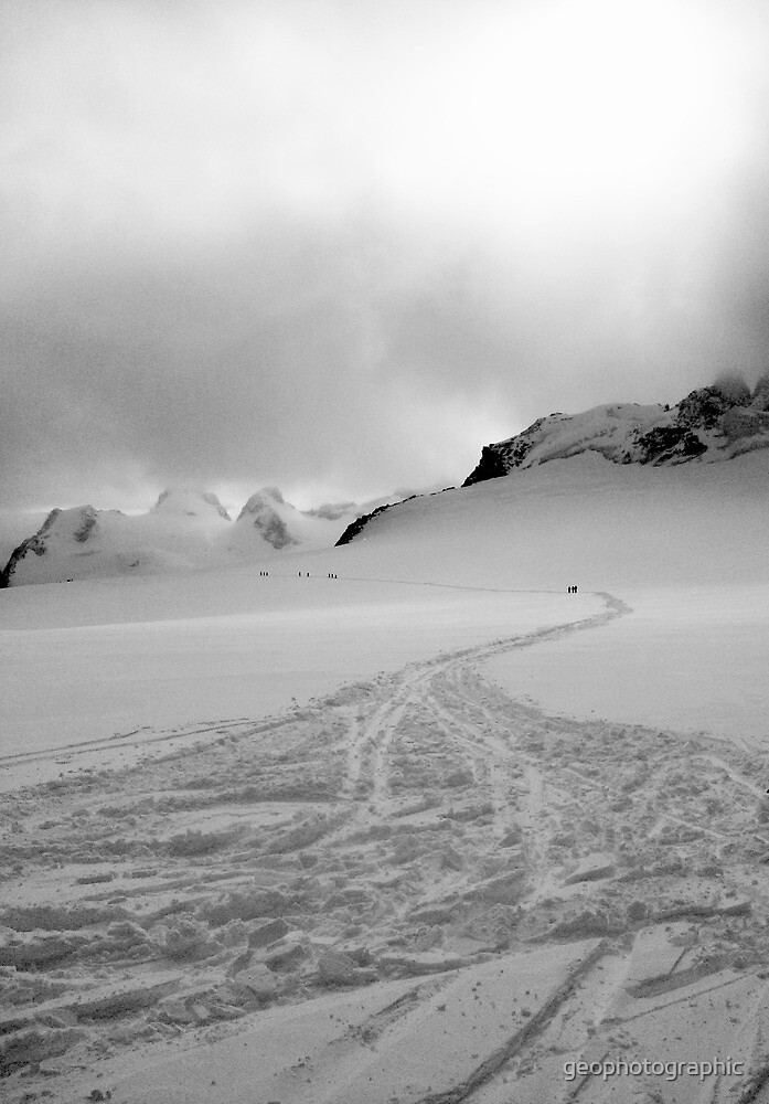 Vallée Blanche tracks by geophotographic