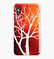 Blazing Trees iPhone Case