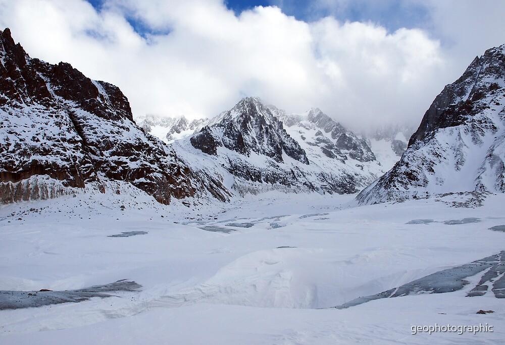 Glacier du Geant II by geophotographic