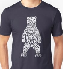 World bear - white logo Unisex T-Shirt