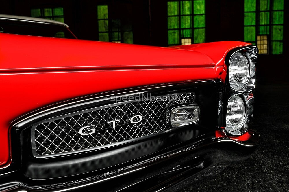 1967 Pontiac GTO by - speedNbeauty-
