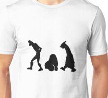 Space Dandy walking trio Unisex T-Shirt