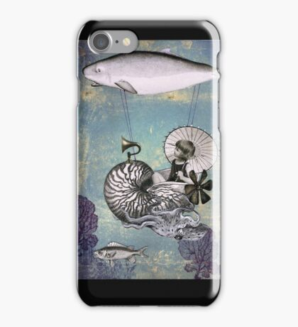 Emma the Nautilus-naut iPhone Case/Skin