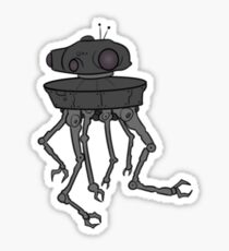 STARWARS - EMPIRE STRIKES BACK ROBOT Sticker