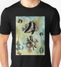 Valenzia and her Angelfish Racer T-Shirt
