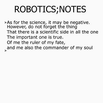 Robotics;Notes by Iori
