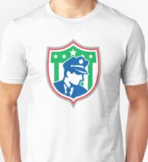 Security Guard Police Officer Shield T-Shirt