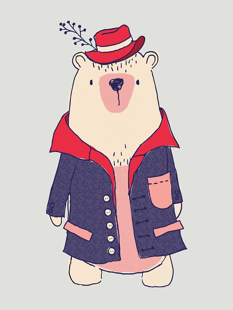 Coat winter bear by joshbar