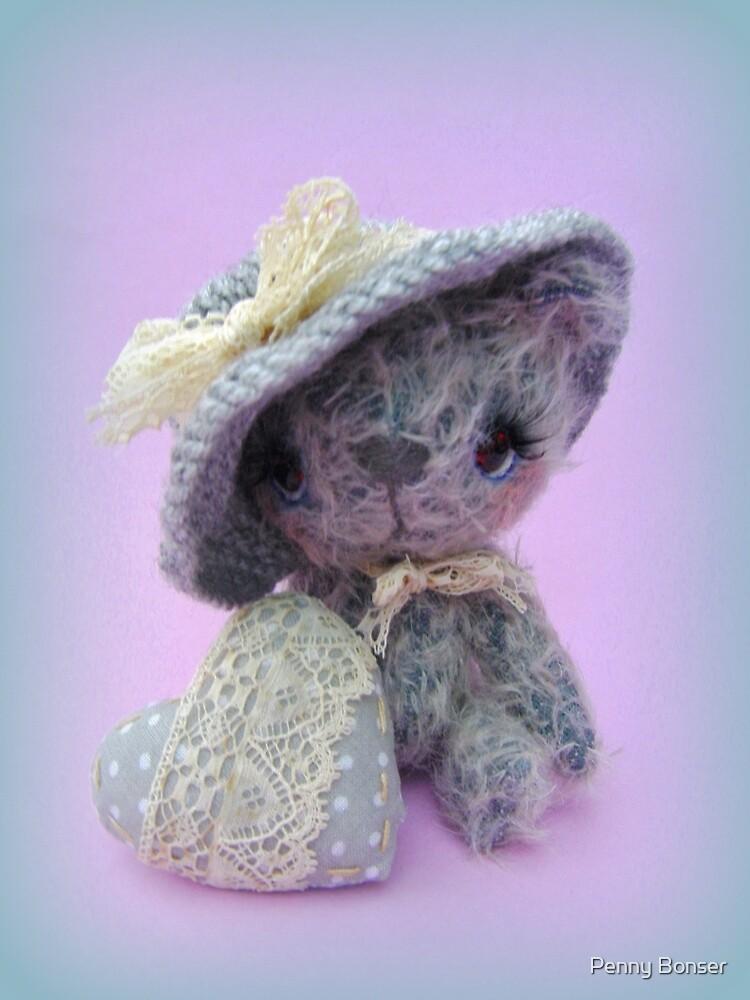 Handmade bears from Teddy Bear Orphans - Mia by Penny Bonser