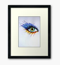 Eye Framed Print