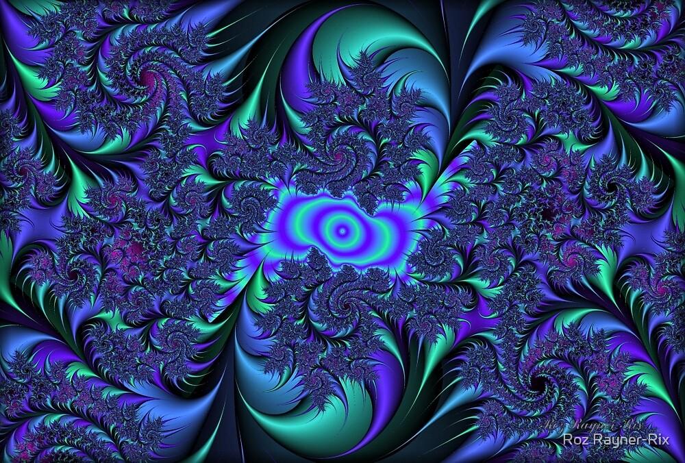 Motley Blue... by Roz Rayner-Rix