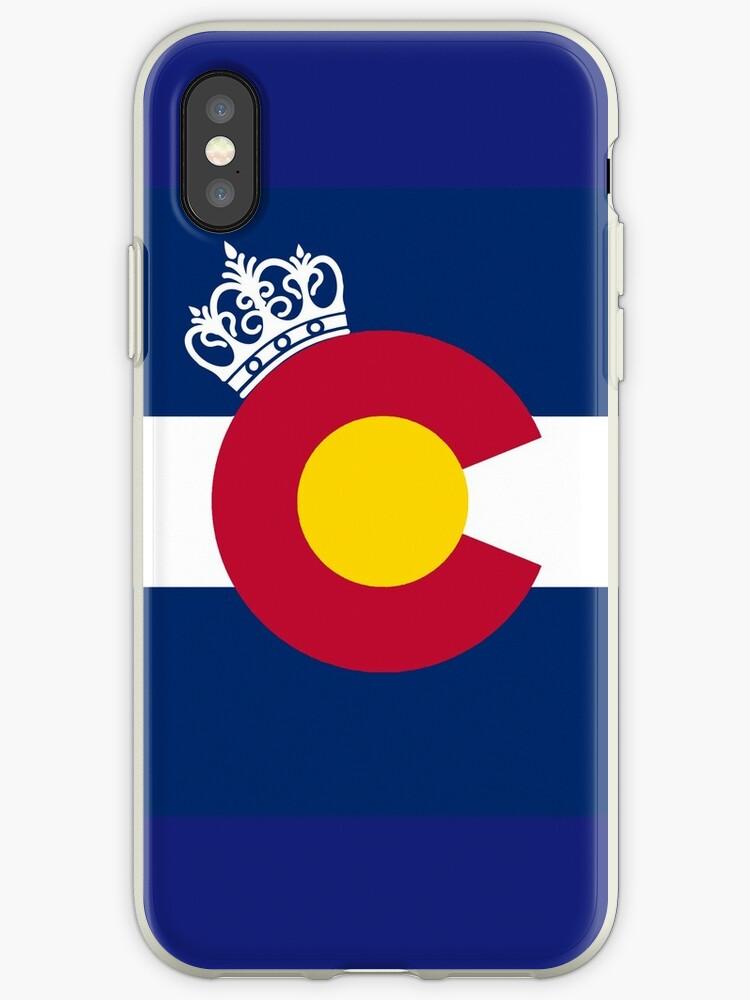 Colorado flag royal crown by artisticattitud