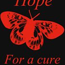Hope Butterfly- MS Multiple Sclerosis by ArkansasLisa