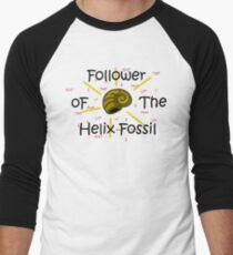All Hail the Helix Fossil Men's Baseball ¾ T-Shirt