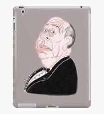 Classic Thriller Movies 60's Funny Caricature iPad Case/Skin