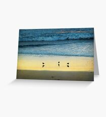 The Early Birds Greeting Card