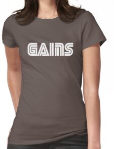 Sega Gains Womens Fitted T-Shirt