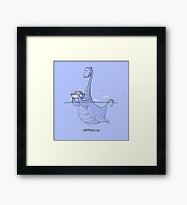 Happinessie Framed Print