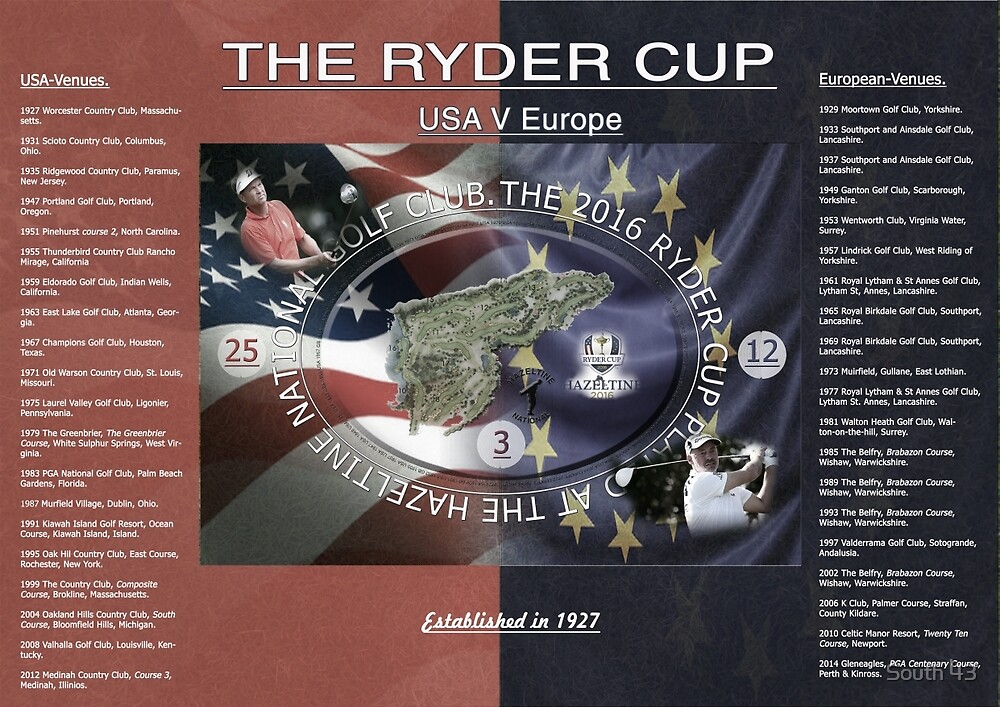 The 2016 Ryder Cup. by South 43
