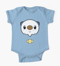 Oshawott Face One Piece - Short Sleeve