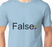 False - Dwight Schrute Unisex T-Shirt
