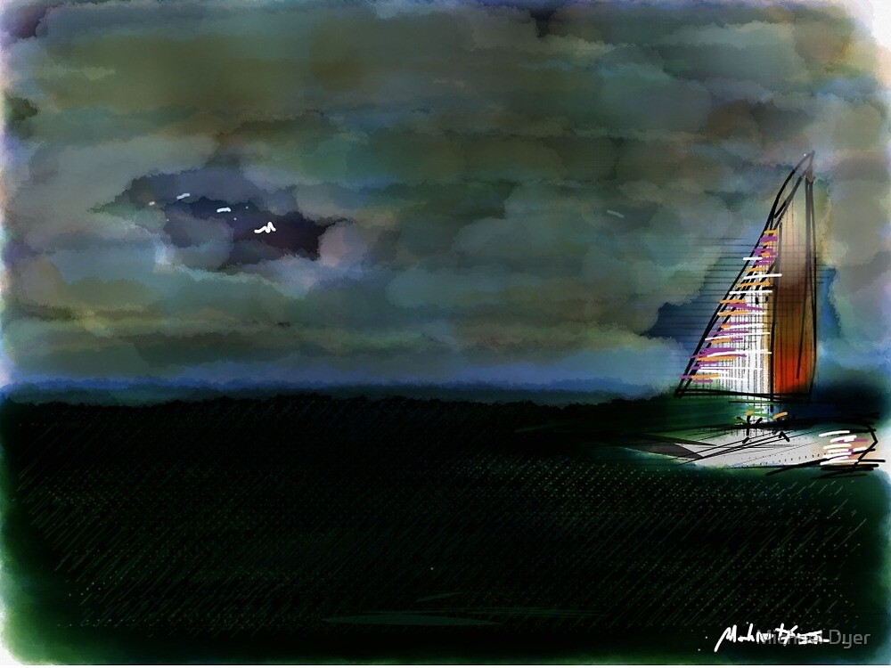 Sailing for a cause! by Michael Dyer