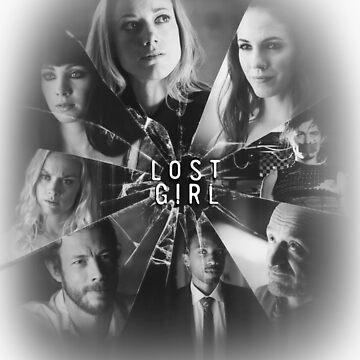 Lost girl - broken glass [black] by EllieTheZombie