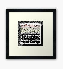 Color Fade Abstract Art Framed Print