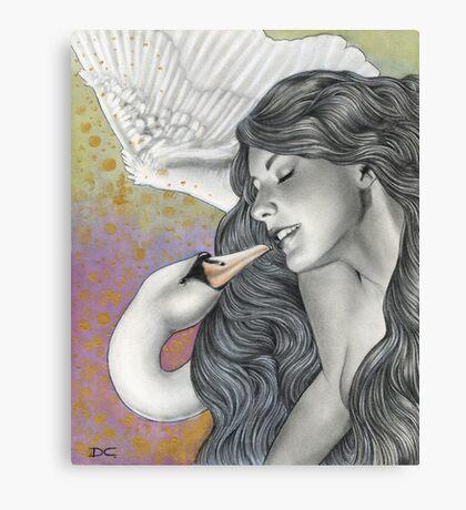 Let me love you Canvas Print