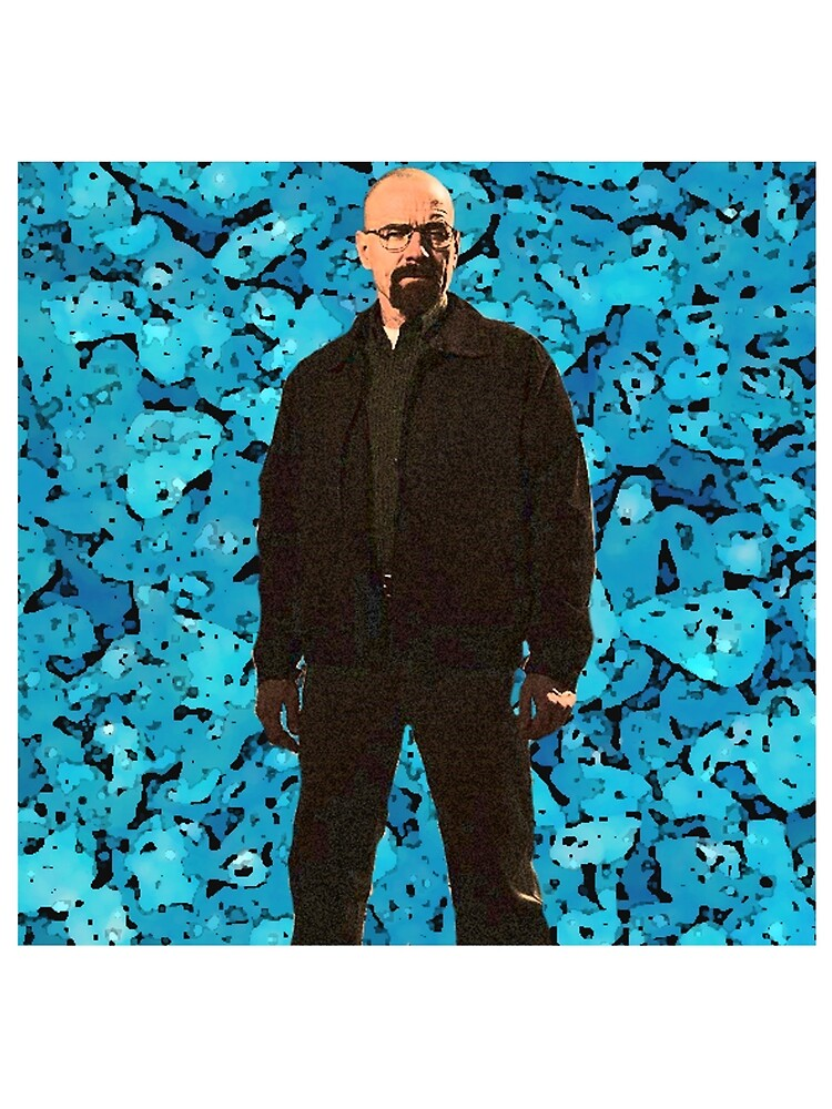 Walter White surrounded by Blue Sky by crm1996