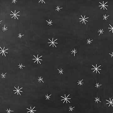 Chalkboard Stars by joshbar
