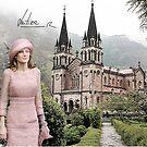 Queen Letizia in Covadonga by Dulcina