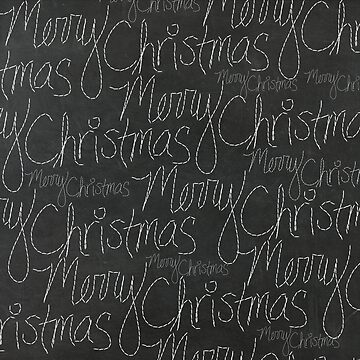 Chalkboard Merry Christmas by joshbar