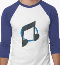 Vinyl Scratch/ DJ-Pon3 Men's Baseball ¾ T-Shirt