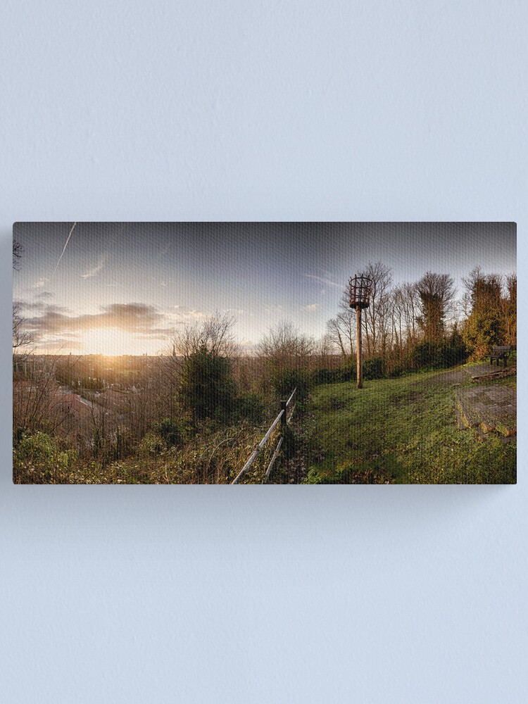 Alternate view of Ketts Heights, Norwich Canvas Print