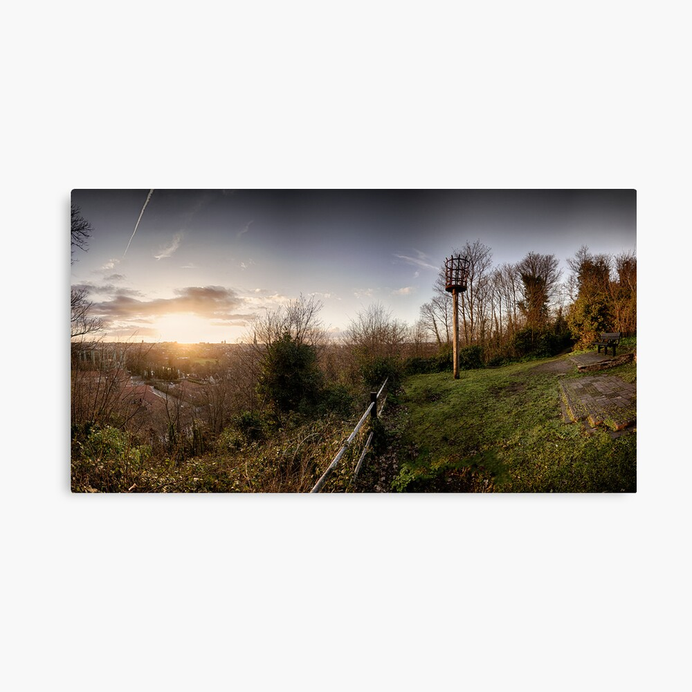 Ketts Heights, Norwich Canvas Print