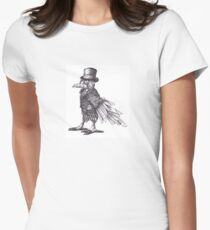 Steampunk Raven Women's Fitted T-Shirt