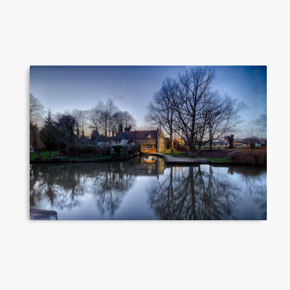 Pulls Ferry, Norwich Canvas Print