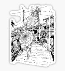 Kyoto - the old city Sticker