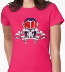 Skull Leader Womens Fitted T-Shirt
