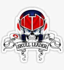 Skull Leader Sticker