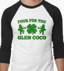 You Go Glen Coco Lucky Clover St Patricks Day T-Shirt Men's Baseball ¾ T-Shirt