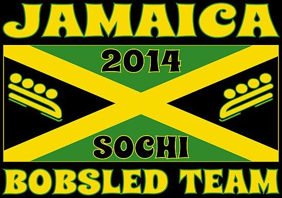 2014 Jamaican Bobsled Team Sochi Olympics T Shirt by xdurango
