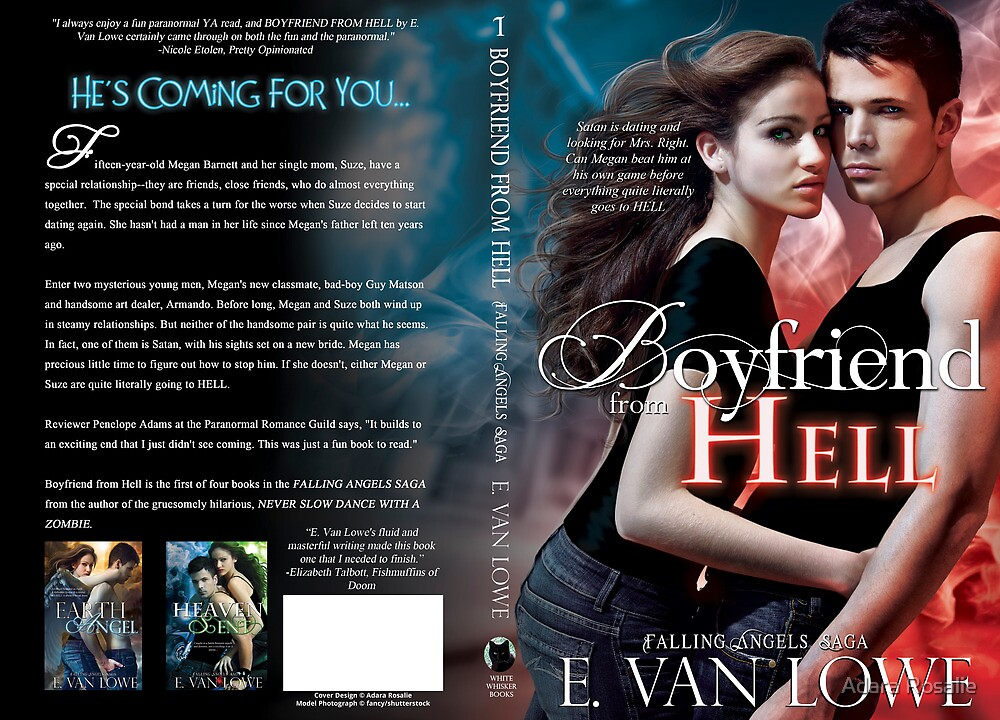 Boyfriend From Hell Book Cover Jacket Design by Adara Rosalie