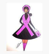Breast Cancer Awareness Cards Photographic Print