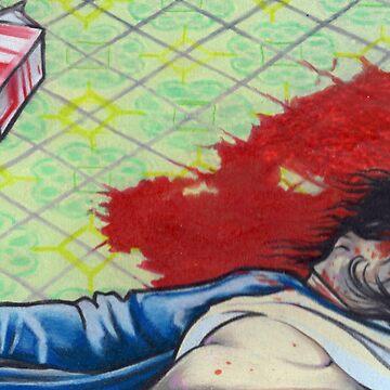 true crime; ramirez crime scene by resonanteye