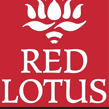Red Lotus School (Full logo, small) by redlotusschool