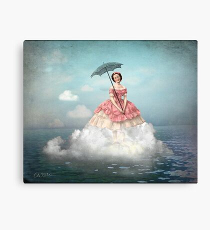 Swimming Cloud Canvas Print