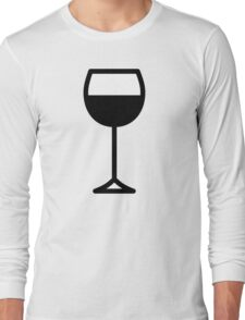 Wine Long Sleeve T-Shirt